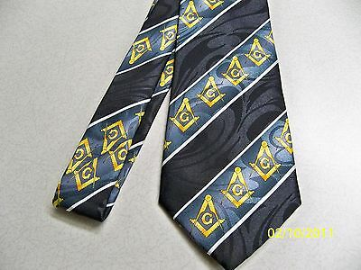 Mason, Masonic, Freemasonry, Fraternal, square  compass quality mens necktie #24