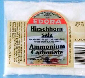 Edora-Hirschhornsalz-Bakers-Ammonia-Hjorthornssalt-Ammonium-Carbonate