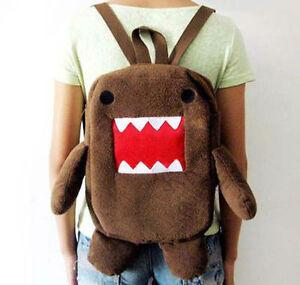 Newest-domo-kun-figure-15-plush-backpack-soft-shoulder-school-bag-brown-Hot