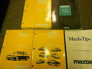1996-Mazda-Protege-Service-Repair-Shop-Manual-HUGE-SET-FACTORY-OEM-BOOKS-96