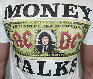 Urban-Outfitters-ACDC-034-Money-Talks-034-White-Graphic-Tee-T-shirt-S-M-L-XL