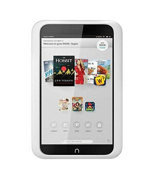 "Barnes & Noble NOOK HD 8GB 7"" Wi-Fi E-Reader Android Tablet - White"
