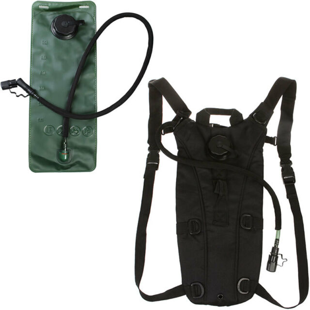 3L Portable Pouch Backpack Bladder Climbing Hiking Survival Hydration Water Bag