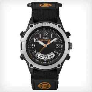 Timex-Expedition-Combo-Mens-Watch-Velcro-Indiglo-100-Meter-WR-T49741