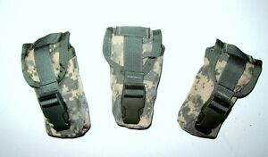 LOT-OF-3-NEW-US-Army-Military-Surplus-SDS-MOLLE-II-ACU-Flashbang-Grenade-Pouch
