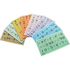 1000 Cartons de Loto Souple 224 grammes grilles toutes differentes plaques carte