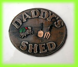DADDY039S SHED   House Wall Plaque Sign LOW PRICE - Galloway - Scotland, United Kingdom - Returns accepted - Galloway - Scotland, United Kingdom
