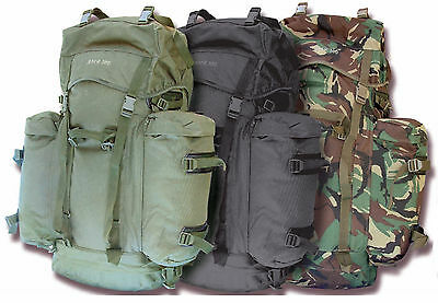 NEW 100L ARMY MILITARY STYLE HIKING OUTDOOR BACKPACK RUCKSACK BERGEN DAYPACK