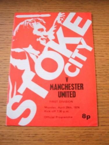 29041974 Stoke City v Manchester United . Item In very good condition unless