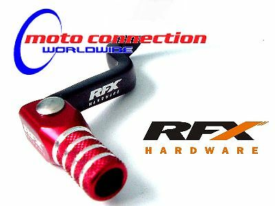 RFX GEAR LEVER RED/BLACK - Honda cr125 00-07 cr 125 Motocross       101B