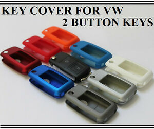 vw  button key fob cover golf passat polo amarok beetle caddy transporter  ebay