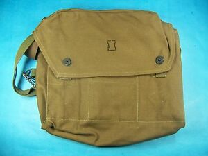 Military Surplus Bag W/ Shoulder Strap Day Pouch Hiking Hunting Bike Bag Used