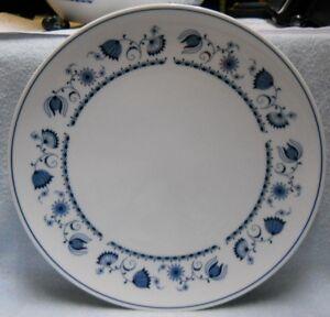NORITAKE-china-BLUE-RHAPSODY-B119-pattern-DINNER-Plate