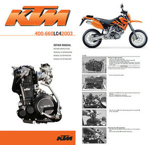 KTM-400-625-640-660-LC4-ENDURO-SUPERMOTO-Repair-Manual-on-cd-pdf