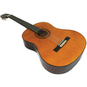 New-39-034-Vizcaya-By-Crescent-Spanish-Style-Nylon-Classical-Acoustic-Guitar