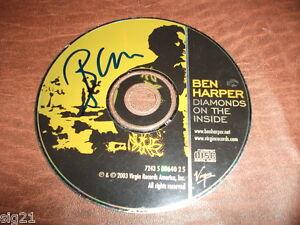 Ben-Harper-Diamonds-On-The-Inside-Signed-Autographed-CD