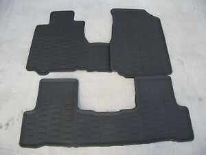 honda crv cr   weather floor mat set mats p swa  ebay