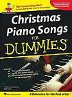 Christmas Piano Songs For Dummies by Hal Leonard Corporation (Paperback, 2009)