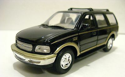 Gate Ford Expedition Eddie Bauer 1:32 Scale Diecast Car Model Black #30071 NEW