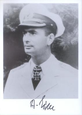 UB11 WWII WW2 U-boat Captain EICK hand signed photograph
