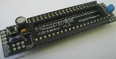 ATMega16/32 8535 164/324/644/1284 Breadboard Adapter kit