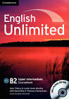 English Unlimited Upper Intermediate Coursebook with E-Portfolio by Leslie Hendra, Alex Tilbury (Mixed media product, 2010)