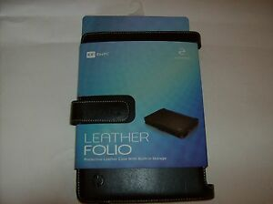 Folio-Black-Leather-8-9-Inch-Eee-Pc-Protective-Leather-Case