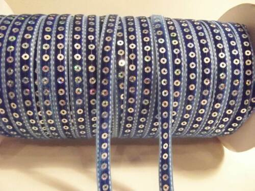 3m length x 10mm Satin//Velvet//Sequin Ribbon