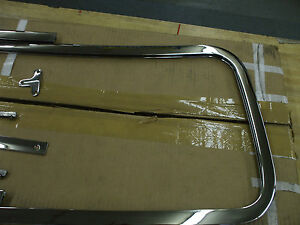 1939-46-Chevy-amp-GMC-truck-NEW-chrome-PLATED-windshield-frame-L-K