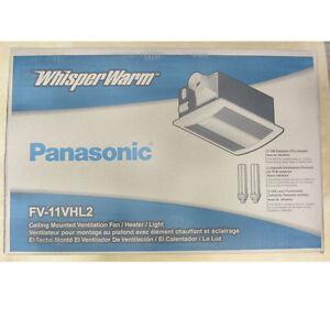 Panasonic Fv 11vhl2 Fv11vhl2 110cfm Whisperwarm Bath Ceiling Fan Factory New 37988870660 Ebay