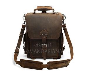 Vintage-Style-Leather-Backpack-Satchel-Messenger-Bag-Briefcase-Laptop-Case-New