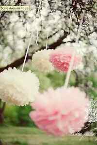Wedding-decorations-30-tissue-paper-pom-poms-3-sizes