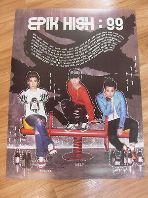 EPIK HIGH TABLO [7TH ALBUM] 99 CD +UNFOLD POSTER K-POP 2NE1