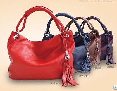Aa842 women's Genuine Leather Shoulder bag Handbag Tote Satchel Messenger Bags
