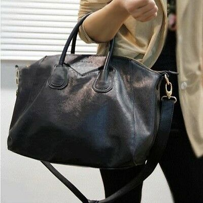 Fashion Faux Leather Womens Handbag Tote Shoulder Bag Hobo Shopper Satchel Purse