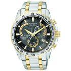 Citizen Eco-Drive AT4004-52E 42 mm Silver Case Silver/Gold Bracelet Wristwatch for Men