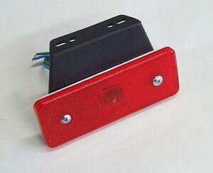 1-x-LED-12V-rouge-tige-arriere-FEUX-DE-POSITION-camion-camping-car-remorque