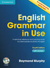 English Grammar in Use with Answers and CD-ROM: A Self-study Reference and Practice Book for Intermediate Learners of English by Raymond Murphy (Mixed media product, 2012)