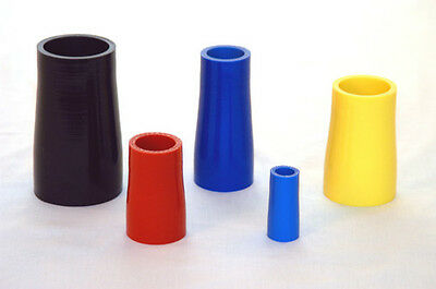 Silicone Straight Reducer hose. Silicone Reducing Straight. Size & Colour Choice