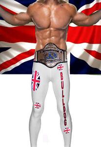 Wrestling-Theme-British-Bulldog-Style-Mens-Fancy-Dress-Costume-Outfit-WWF-WWE