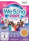 We Sing: Pop (Nintendo Wii, 2012, DVD-Box)