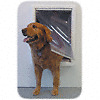 RUFF-WEATHER-INSULATED-PET-DOG-DOOR-XX-L-Super-Large-WITH-WALL-MOUNT