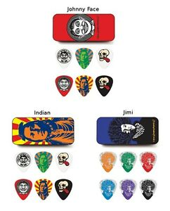 Dunlop John van Hamersfeld Collector Picks - 6 Plektren mit Sammlerbox