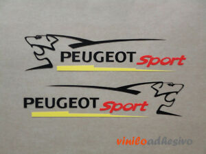 PEGATINA-STICKER-VINILO-COCHE-Tunning-Peugeot-sport