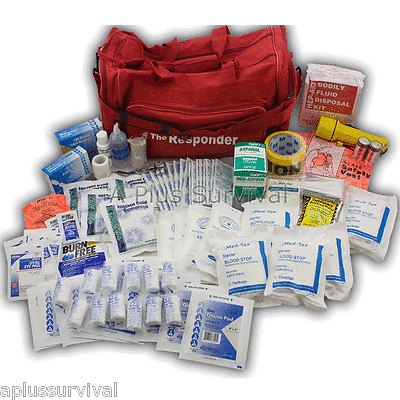 "First Aid Trauma ""Responder"" Survival Medical Tote Kit"