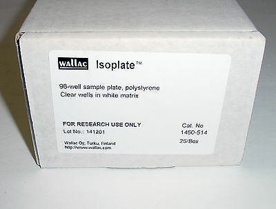 NEW - PERKIN ELMER - WALLAC Isoplate 96-well sample plate Cat. No. 1450-514