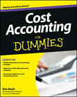 Cost Accounting For Dummies(R) by Kenneth Boyd (Paperback, 2013)