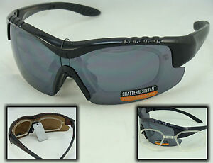 55648-SPORT-SUNGLASSES-WITH-RX-ADAPTER-PRESCRIPTION-INSERT-CHOICE-COLORS