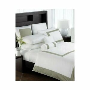 NIP-HOTEL-COLLECTION-COLOR-BLOCK-KING-SIZE-PILLOW-SHAM-IN-GREEN-TEA-ON-WHITE