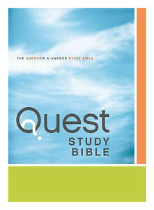 niv quest study bible hardcover the question and answer bible